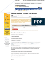 Balance Sheet and Profit and Loss Account by Anil Kumar Gupta