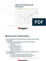 SFRA Teoria y Analisis Megger