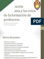 BIII-A7 La educación secundaria y los retos de la formación de profesores