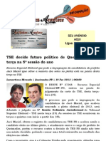TSE decide futuro político de Queimadas nesta terça na 5ª sessão do ano