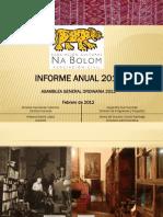 Reporte Asociados 2012