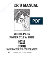 CMC PT-35 Owners Manual