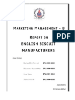 Marketing Management - Final Report