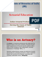 Introductionto the Actuarial Profession