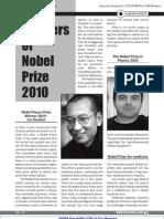 Winner of Nobel Prize 2010