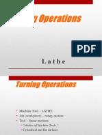 Lathe Operation