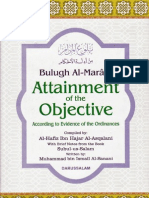 Bulugh Al Maram Attainment of the Objective According to Evidence of the Ordinances