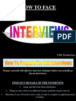 Interviews Ppt