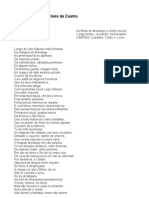 Cantata à Morte de Inês de Castro - Bocage