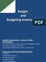 Budget and Budgeting Innovation_PA 2013_1