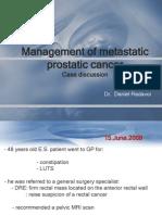 Prostate Cancer Case