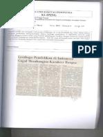 Lembaga Pendidikan Di Indonesia Gagal Membangun Karakter Bangsa