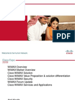 Cisco WiMAX E2E Solution Architecture