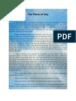 The Piece of Sky