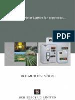 Bch Range of Motor Starters Eng 57216