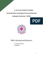 IB Syllabus