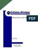 Sample Drive Test Report