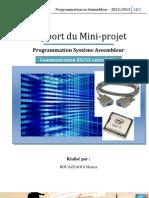 Rapport Assembleur RS232