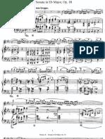 Strauss - Op.18 - Violin Sonata in Eb Major