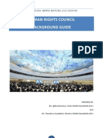 UNHRC - Background Guide