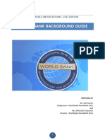World Bank - BACKGROUND Guide