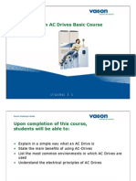 01 Vacon AC Drives Basic Course