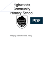 Charging and Remissions Policy
