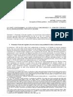 AIC - Tutela Della Concorrenza e Regolazione Del Mercato. Saitto