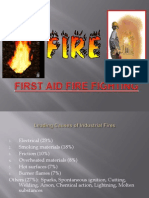 First Aid Fire Fighting