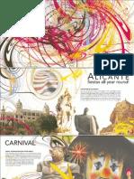 Folleto Fiestas en Alicante Ingles 2007