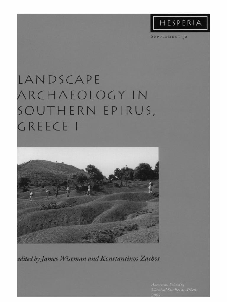 Wisemanu0026Zachos Eds Landscape Archaeology in Southern