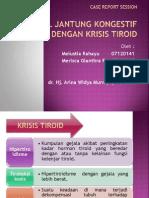 CHF Dengan Krisis Tiroid