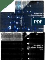 Prontuario estructuras metálicas Cedex 5ª Ed
