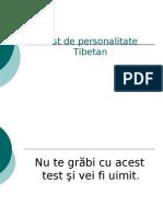 Test de Personalitate Tibetan - FENOMENAL