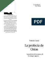 Geryl Patrick La Profecia de Orion