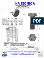 Ficha Tecnica Perno Hexagonal Astm a-394 Tipo 1