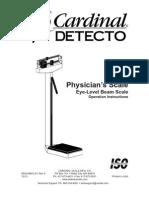 Detecto 339 Manual