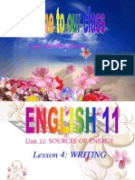 unit 11 Writing  english 11.ppt