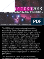 Astrophotography  Catalogue 2013