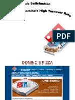 18023677 Case Study OB Dominos Pizza Job Satisfaction