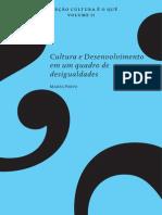Cultura e Desenvolvimento Num Quadro de Desisgualdades