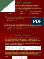 4.-Ecuaciones de estado.Cálculo de propiedades con ecuaciones de estado