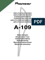 Amplicador a-109 Pioneer