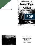 Lewellen. Antropología Política