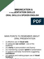 Oral Communication Skills