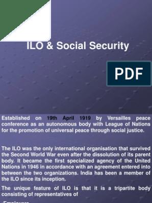 ILO PPT | International Labour Organization | Trade Union