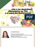 Trastornos de La Alimentacion. Papel Nutricionista