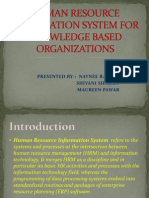 Knowledge Mgmt in Hr