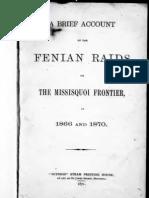 Brief Account of the Fenian Raids 1877
