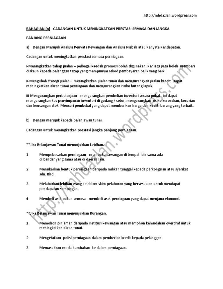 Contoh Rumusan Folio Akaun Tingkatan 4 Usb Cable Sale